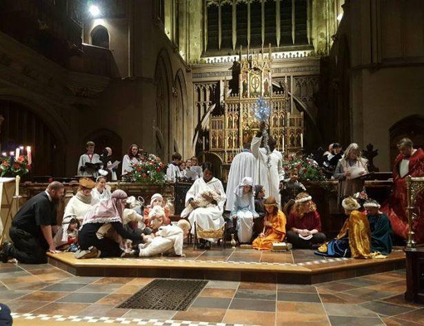 St Mary's Nativity Service