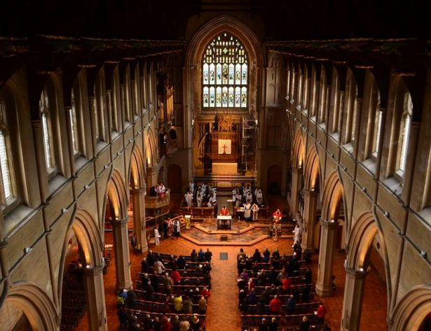 St Mary's Sunday Mass
