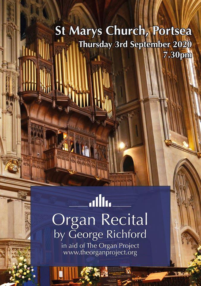 Organ Project Recital September 2020