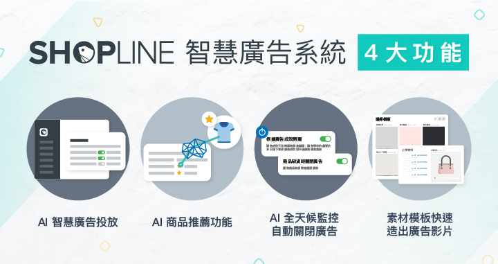4 stunning features of SHOPLINE Smart Ad System