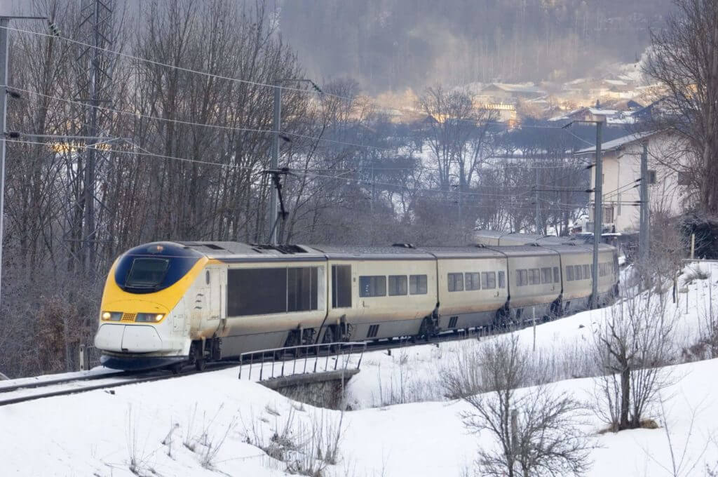 Eurostar in the Alps