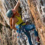 Emma Twyford Climbing