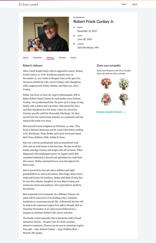 funeral speech examples