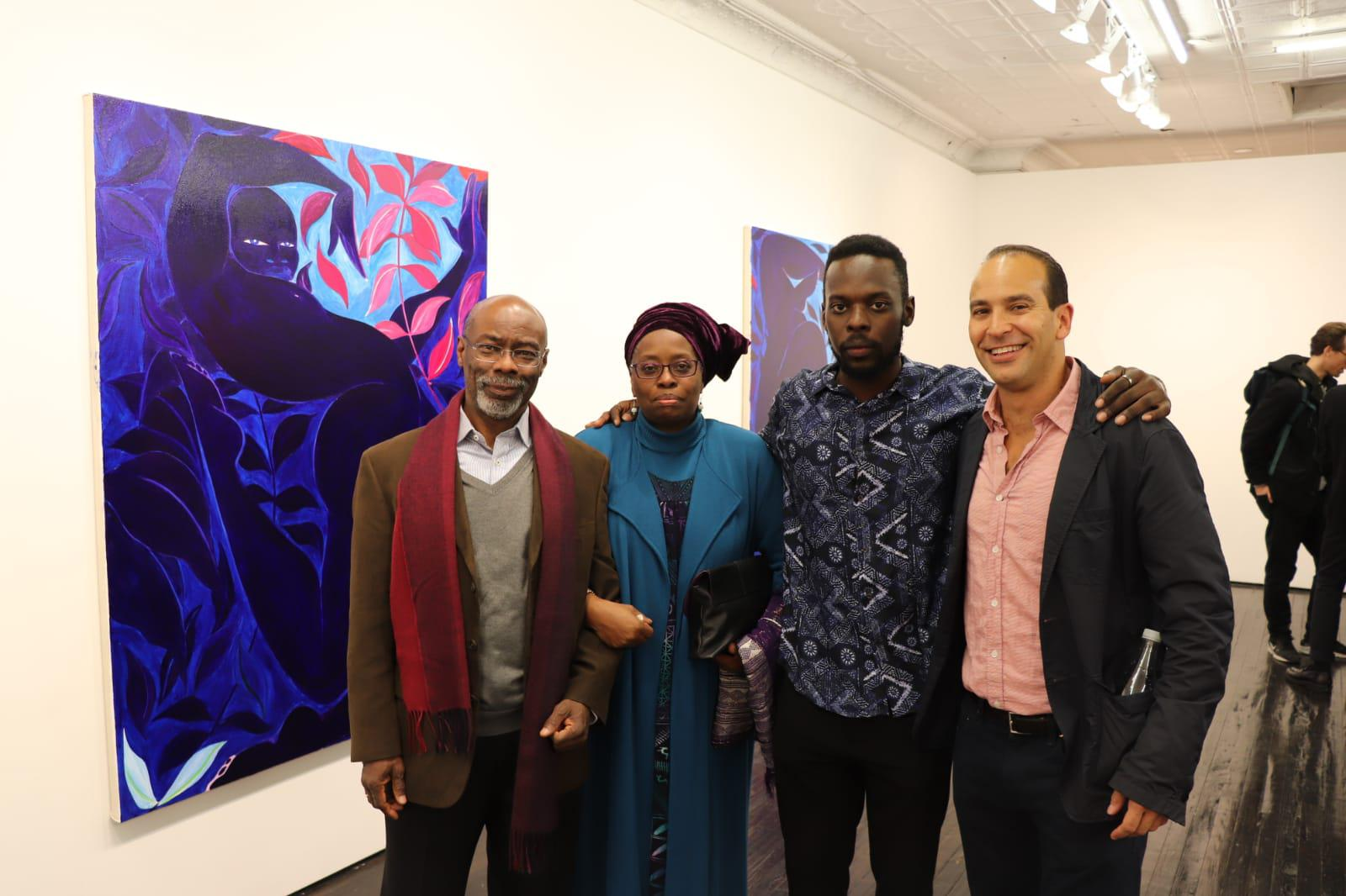 Rodney, Buki, Tunji and Bernard Lumpkin
