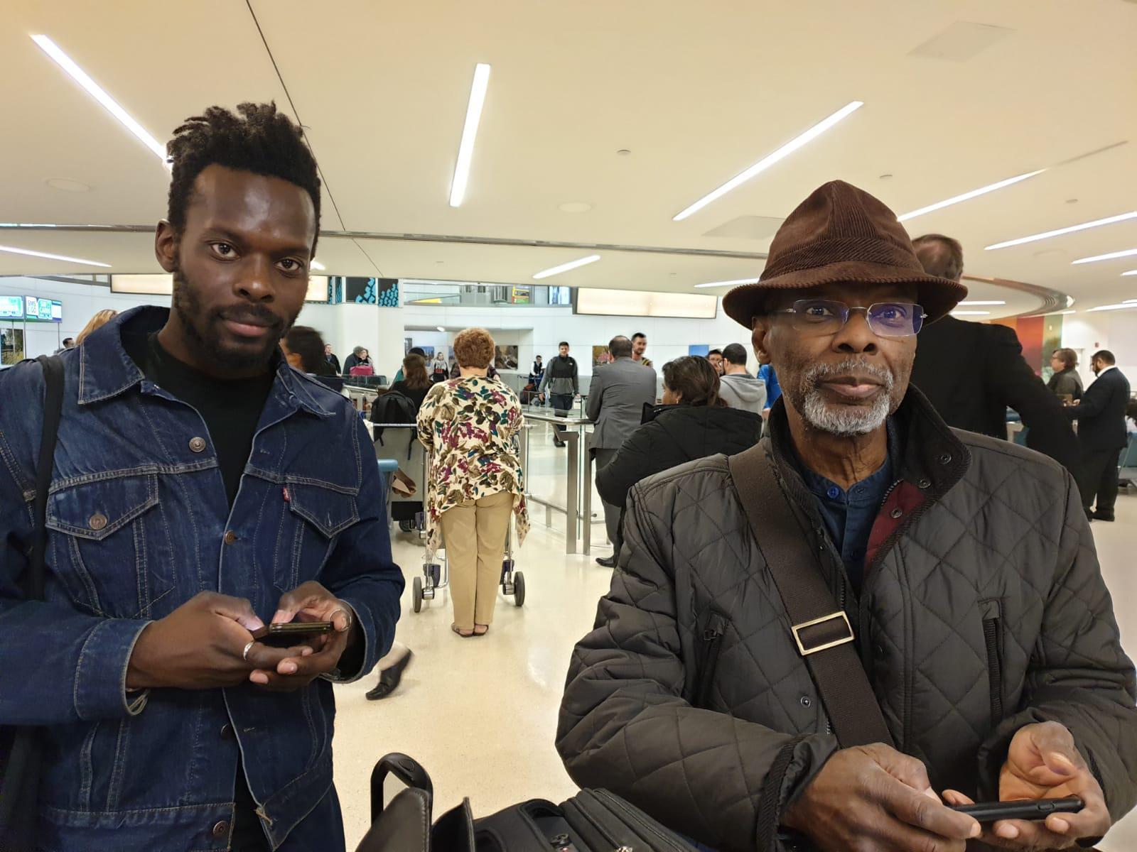 Rodney & his son Tunji