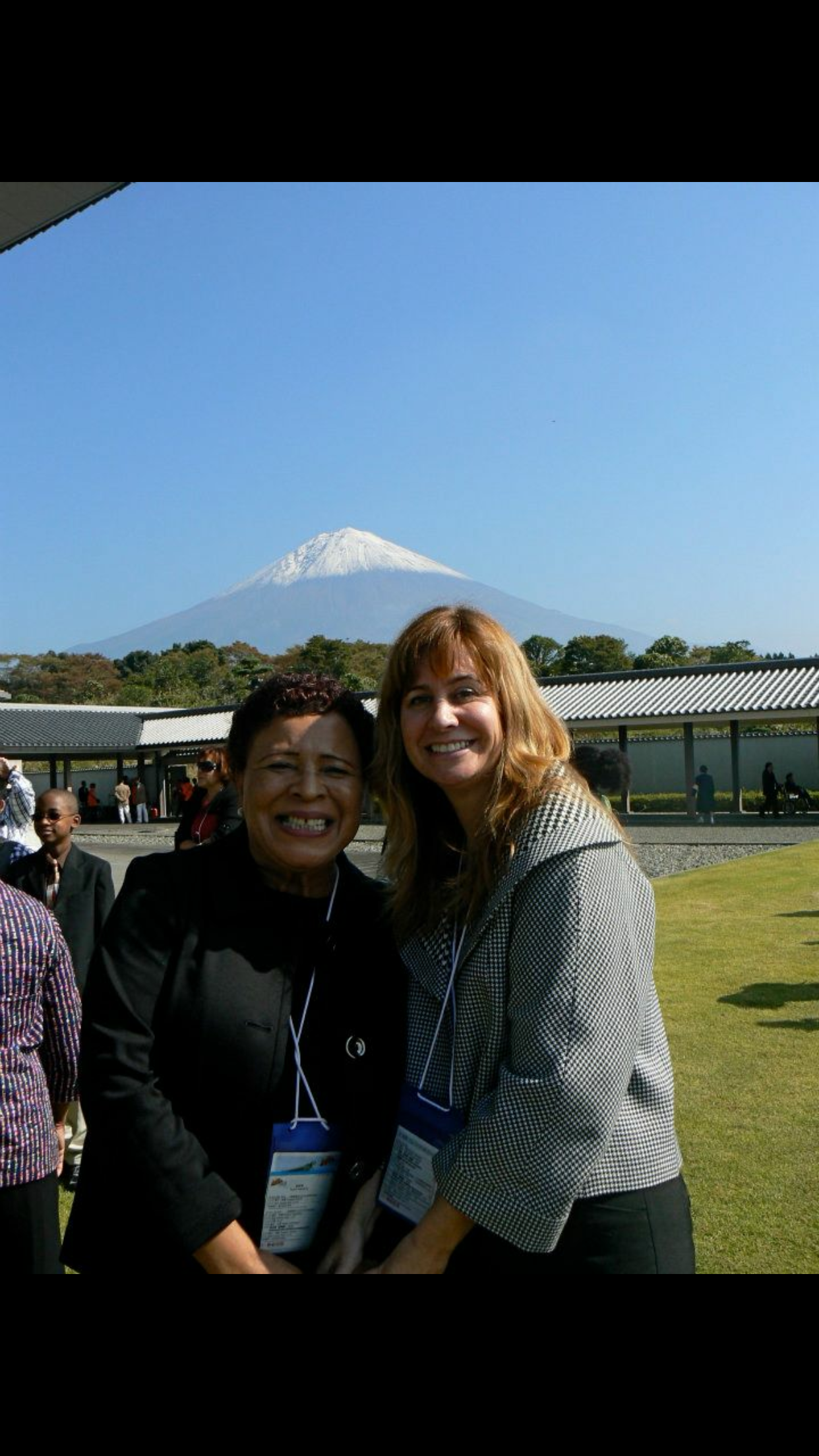 Donna and I in Japan!  A wonderful memory