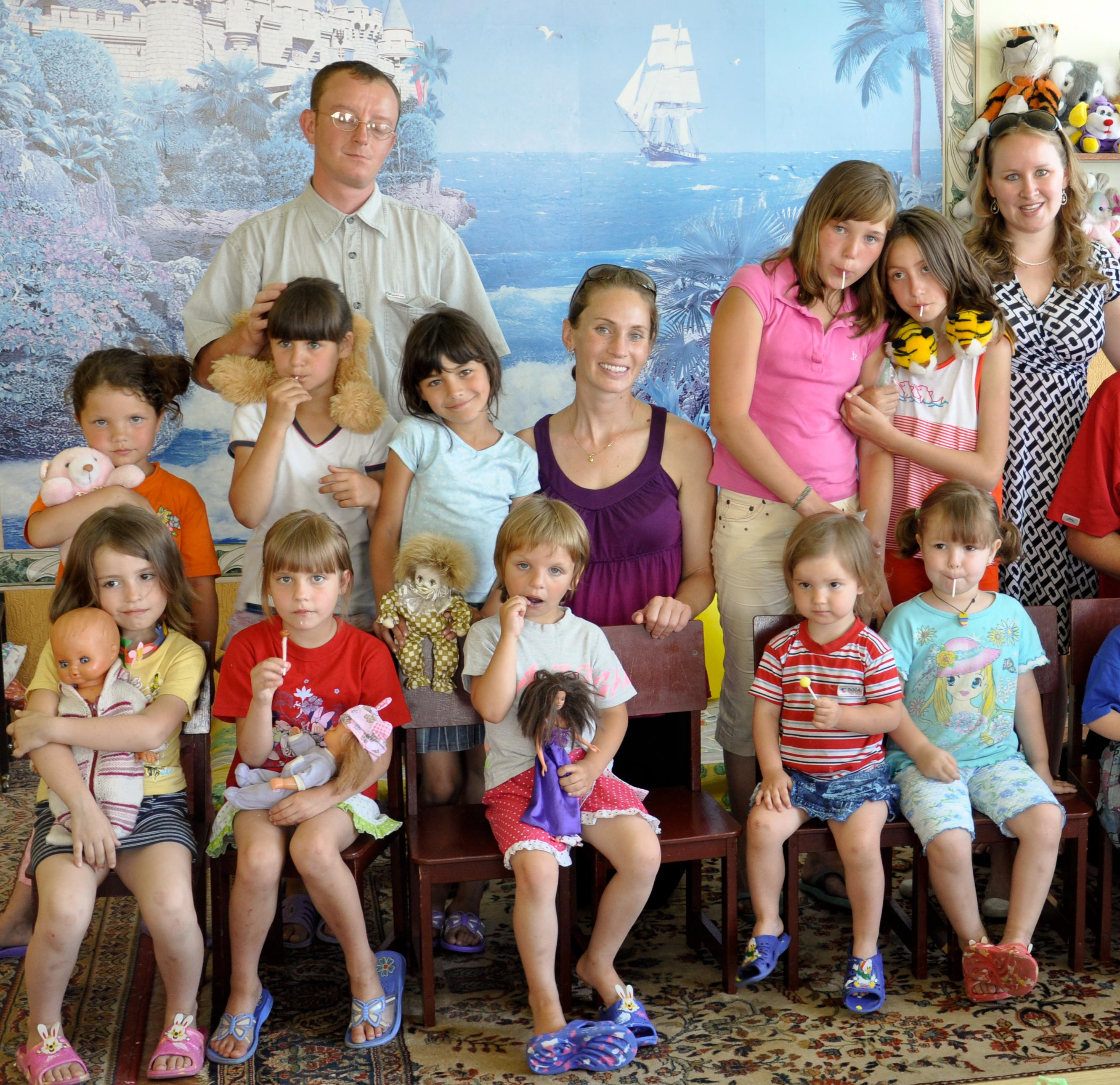 Visit with A Family For Every Orphan to visit kids and families in 2010.