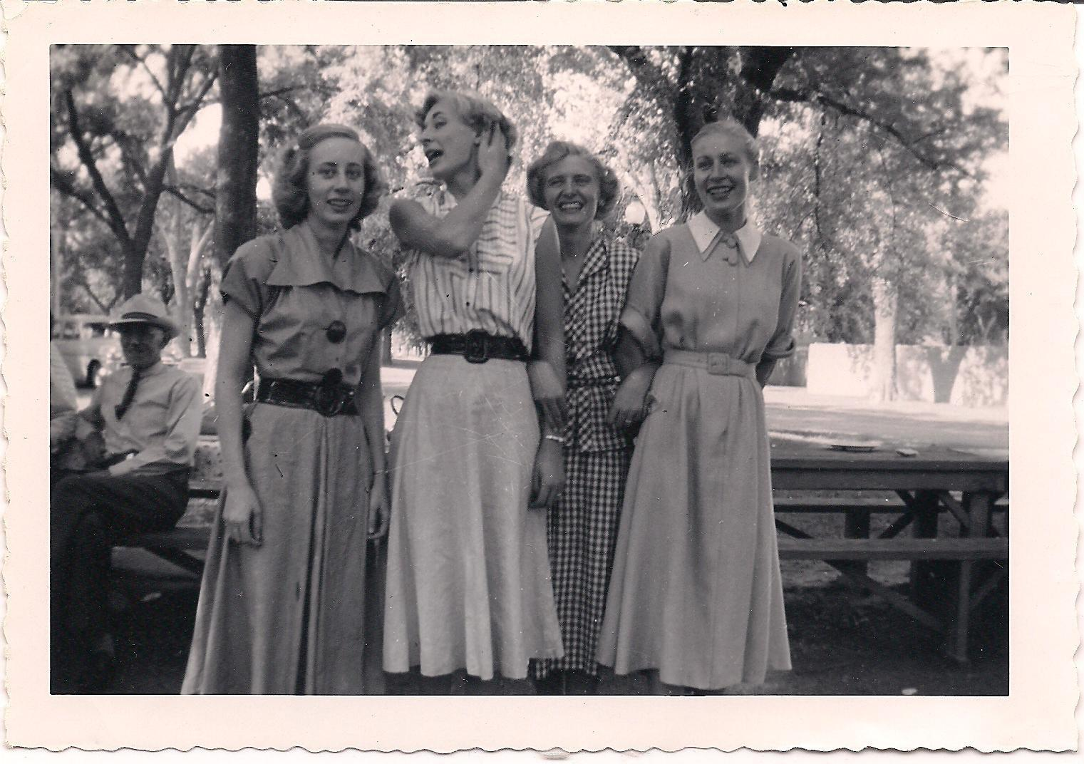 Beautiful Sisters - Lorene, Norma Ann, Wilma and Evelyn