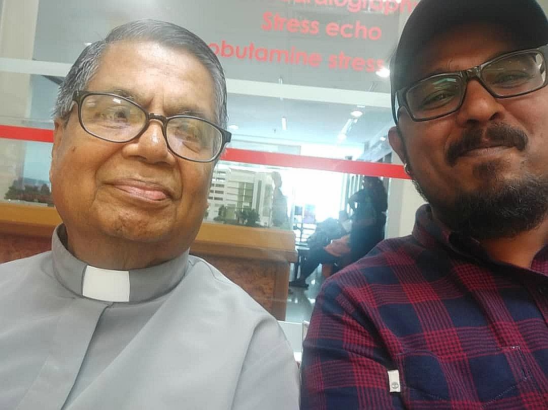 Selfie with Cardinal