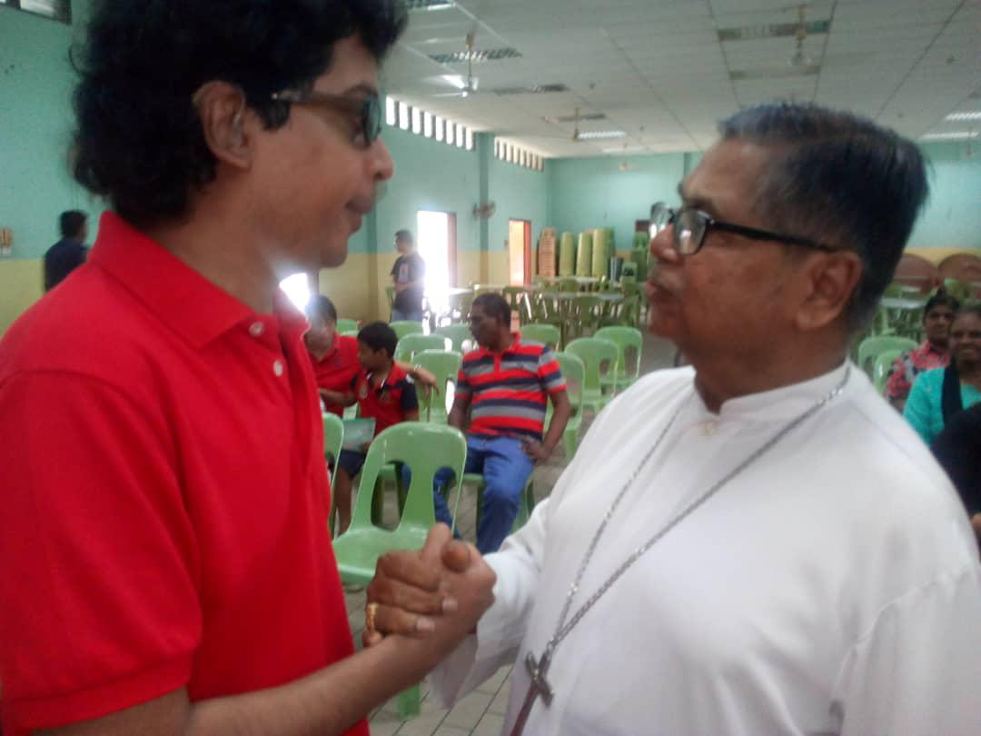 WHEELS (Assumption Church, PJ.)  Disability Awareness event and special Mass celebrated by Cardinal Soter Fernandez, hosted by Eagle's Wing Ministry, St. Joseph Church, Sentul. - 2017