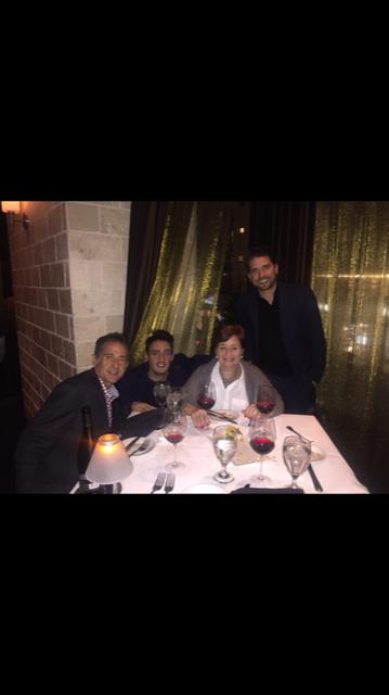 Micheline de Bievre, Brian O'Connell, Roberto Boehringer and Gregory Boisson