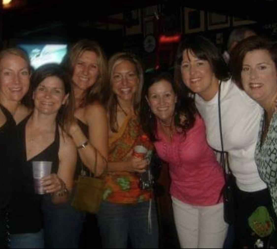 Having a blast with PC 88, 20 year reunion (I think) reunited and it feels so good! Picture courtesy of Amy Pete!