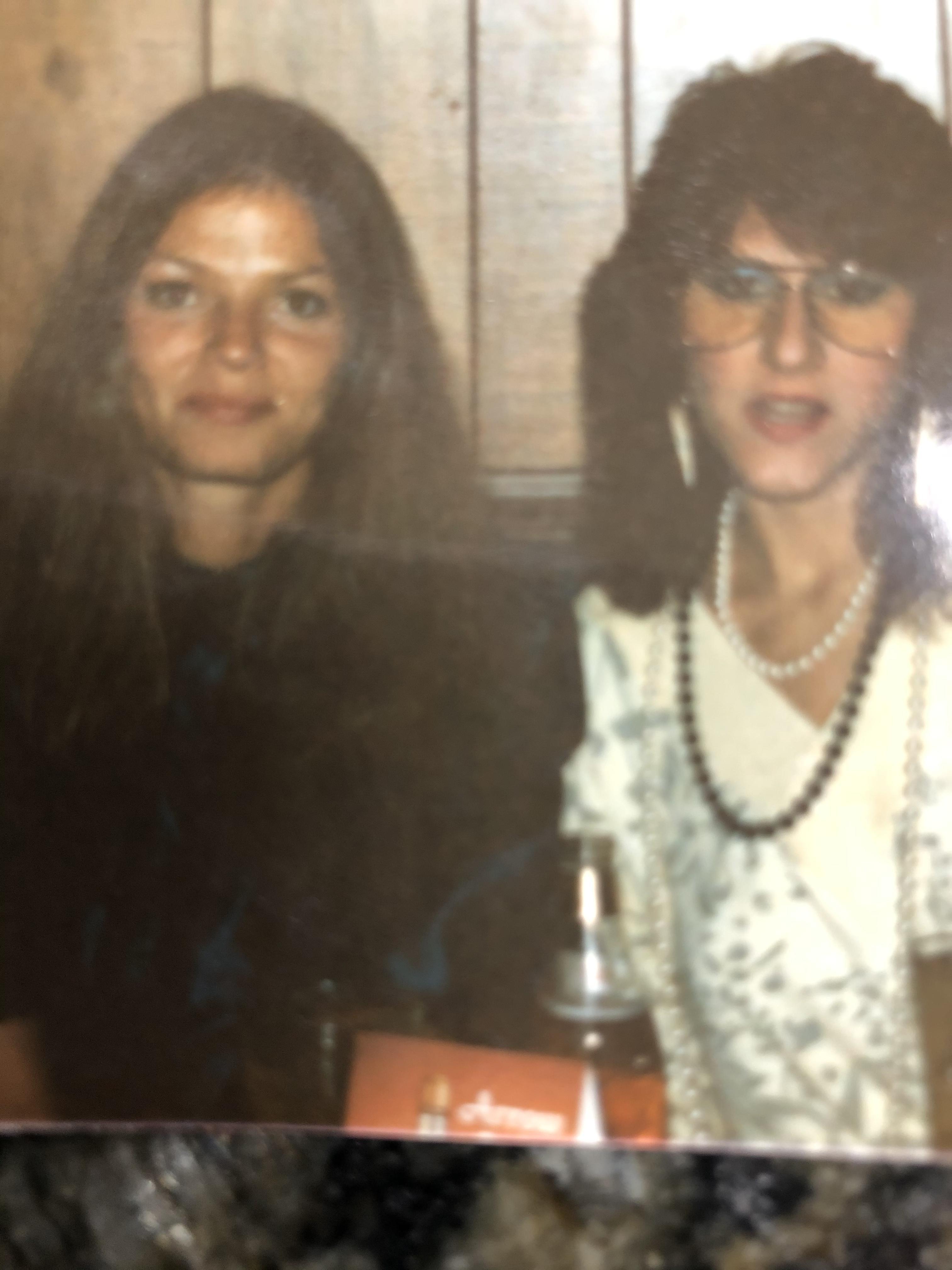 My friend Rhoda Mae.