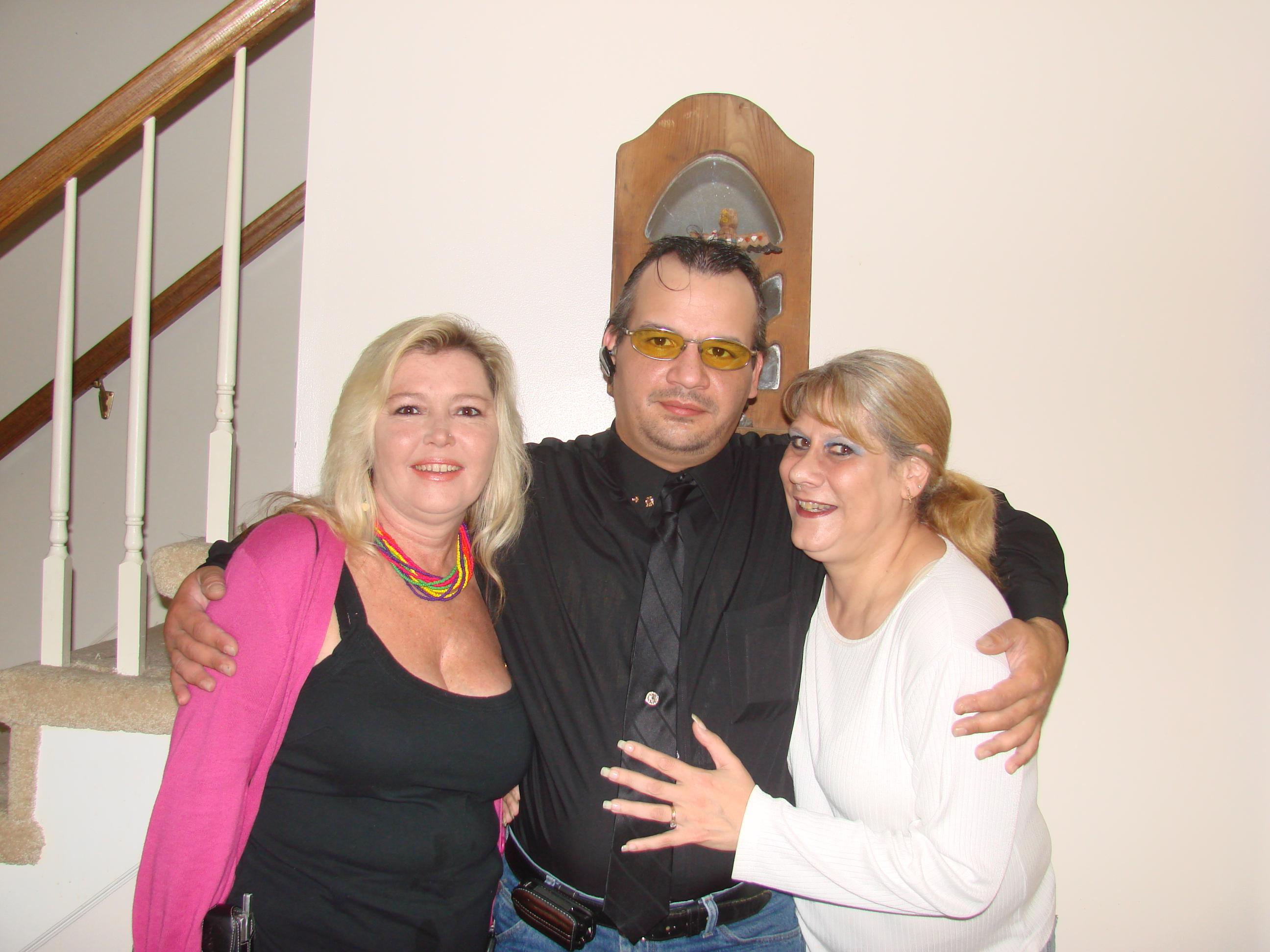 Rhodini with Carla Logan (RIP) & I