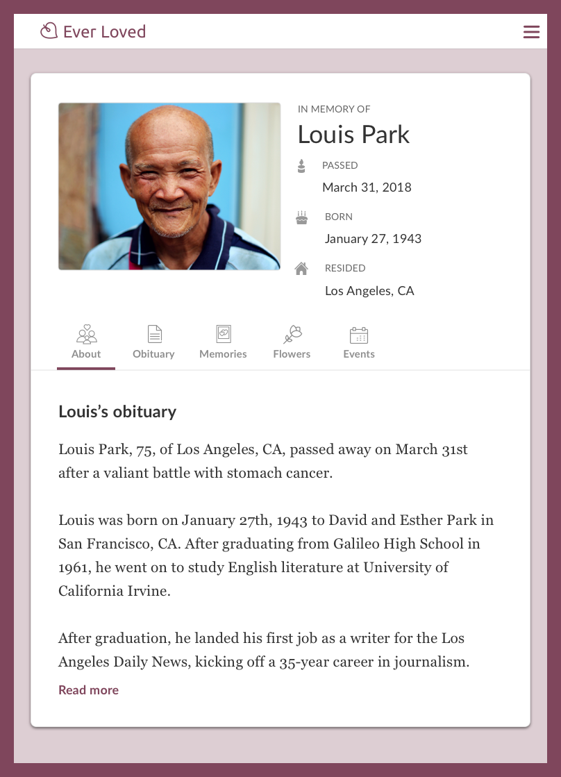Sample Obituary For Mother Template from storage.googleapis.com