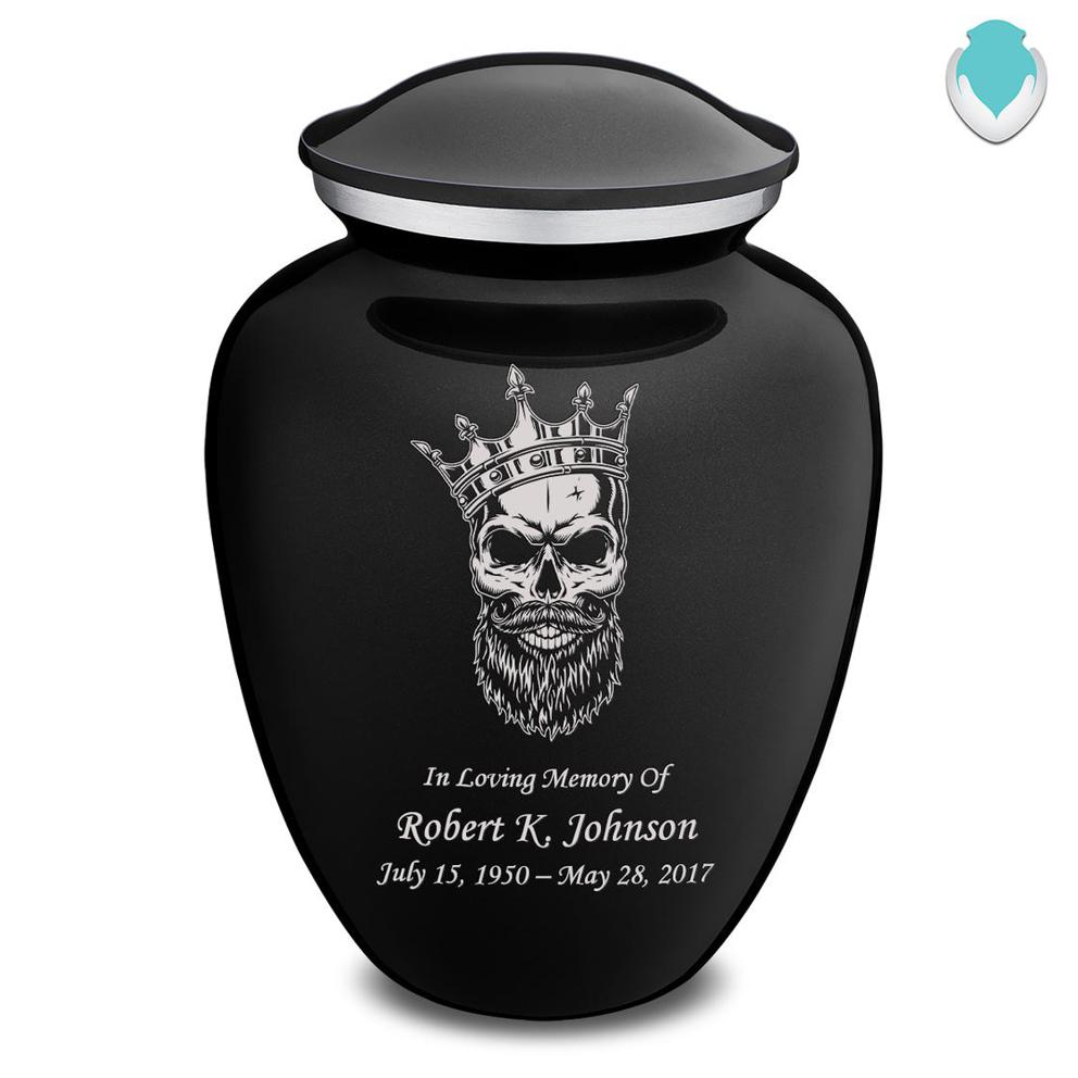 Photo of Adult Embrace Skull Cremation Urn