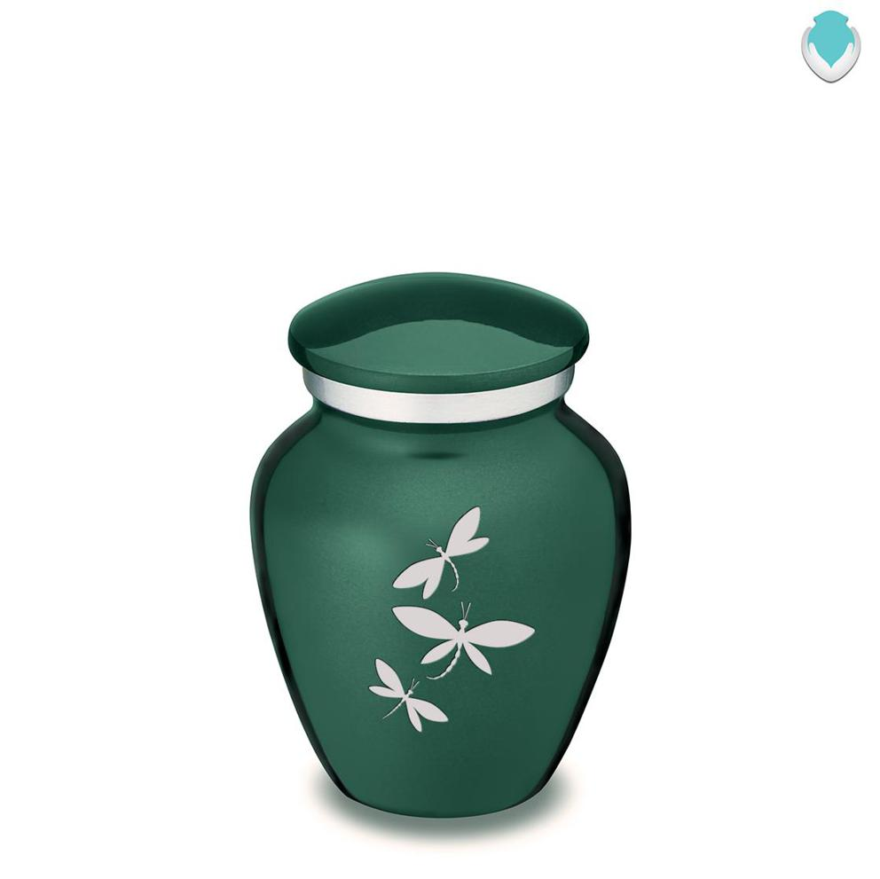 Photo of Keepsake Embrace Dragonflies Cremation Urn
