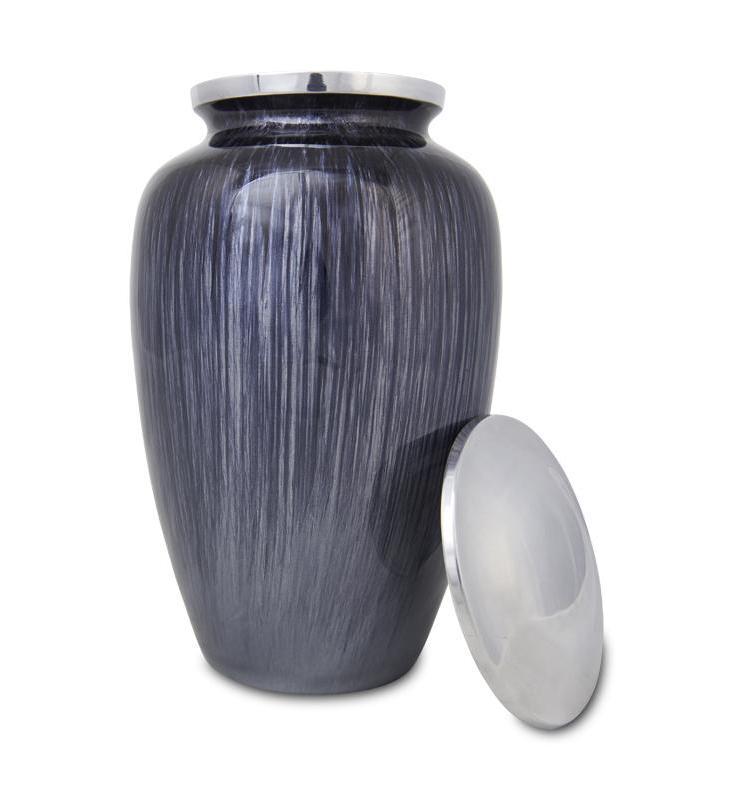 Photo of Dark Blue Enamel Urn