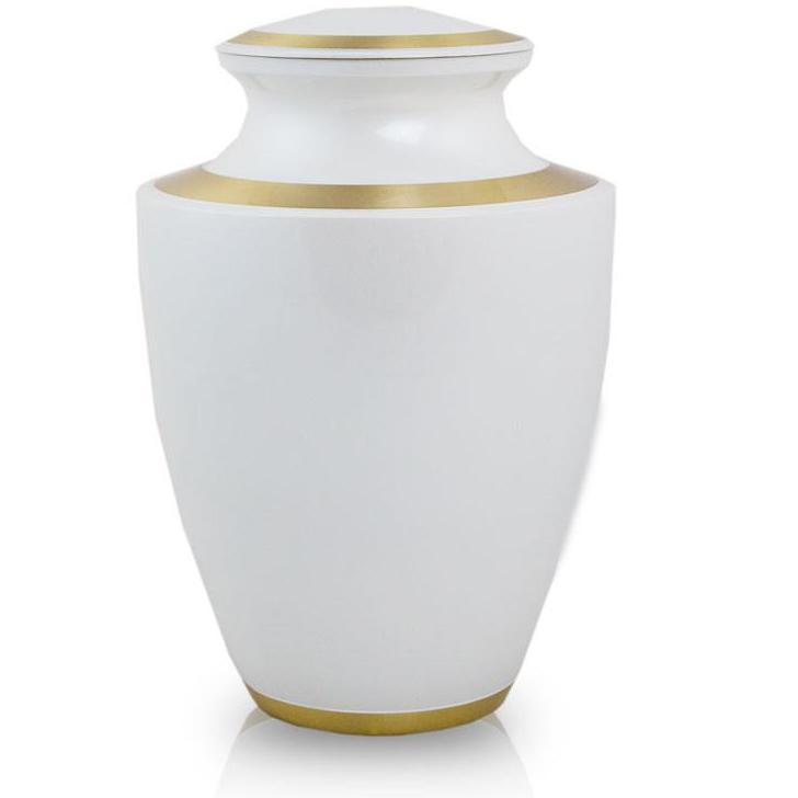 Photo of Trinity Pearl White Cremation  Urn
