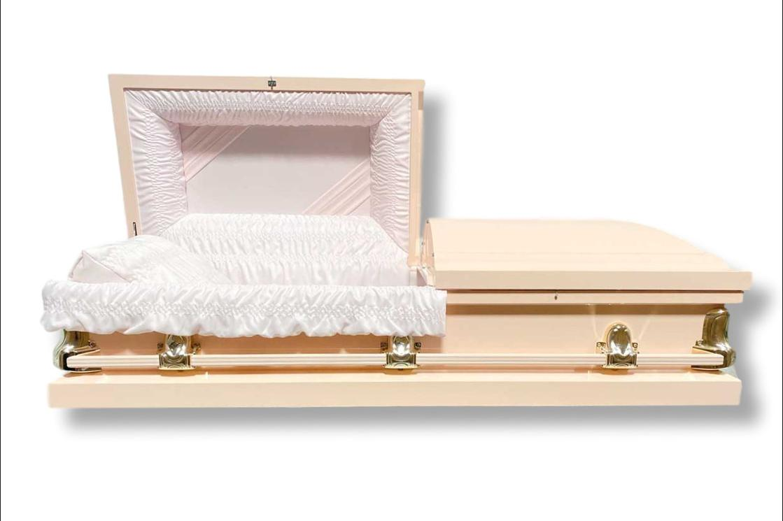 Photo of Stanford Pink - Steel Casket