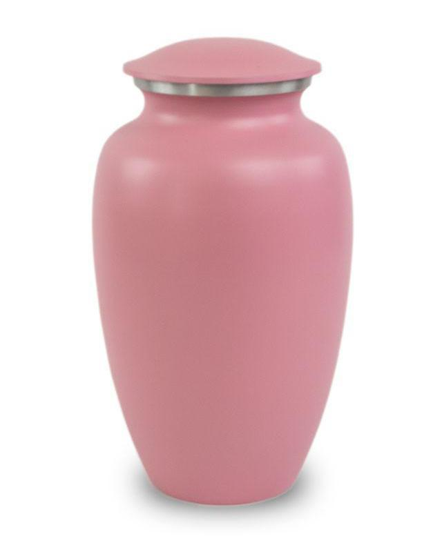 Photo of Classic Pink Cremation Urn