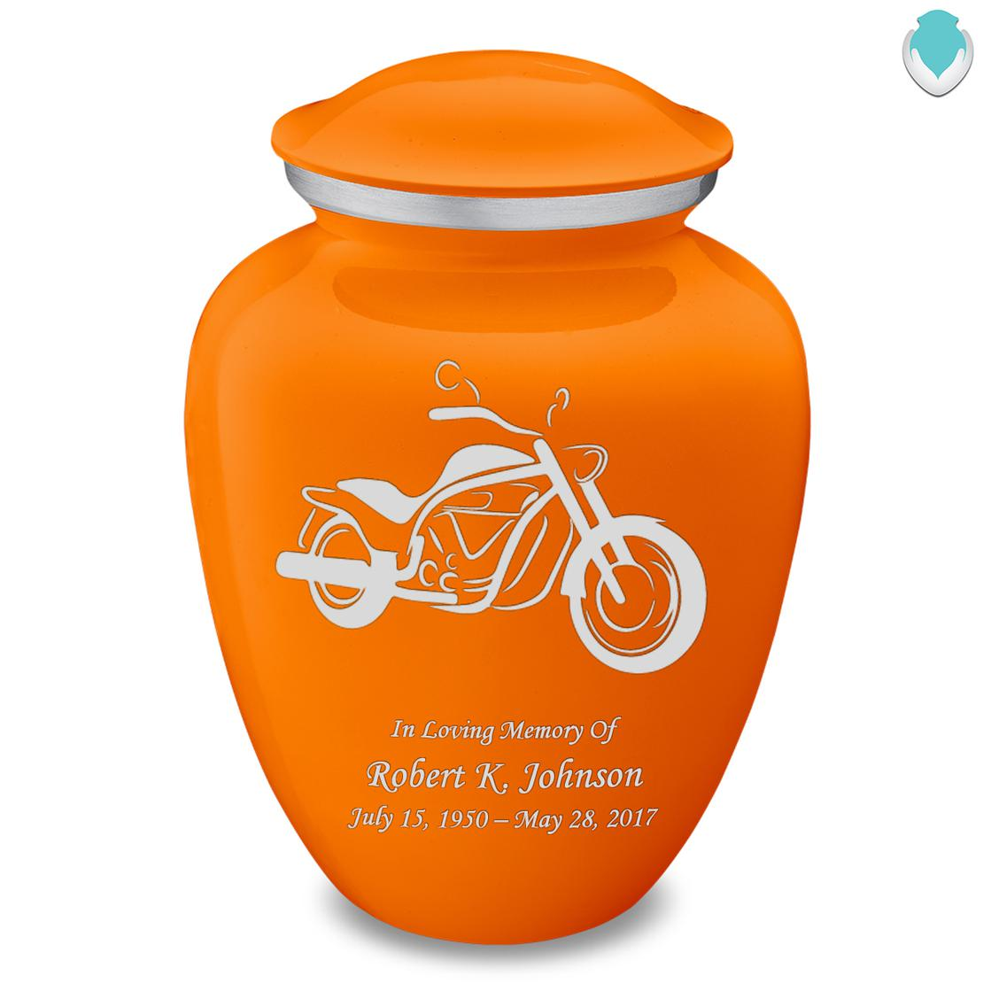 Photo of Adult Embrace Motorcycle Cremation Urn