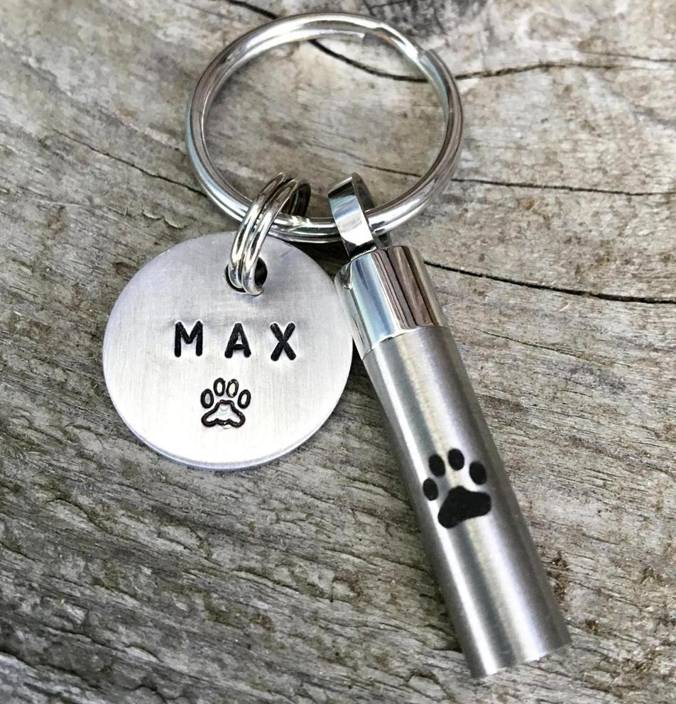 Photo of Custom Pet Urn Gift - Cremation Urn Keychain
