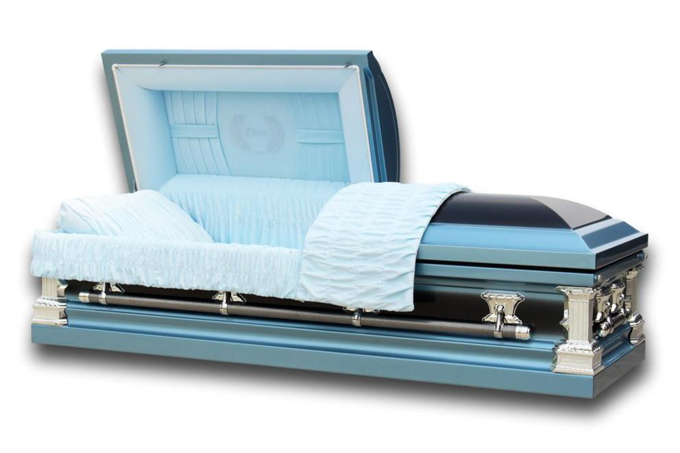 Photo of Father - Steel Casket