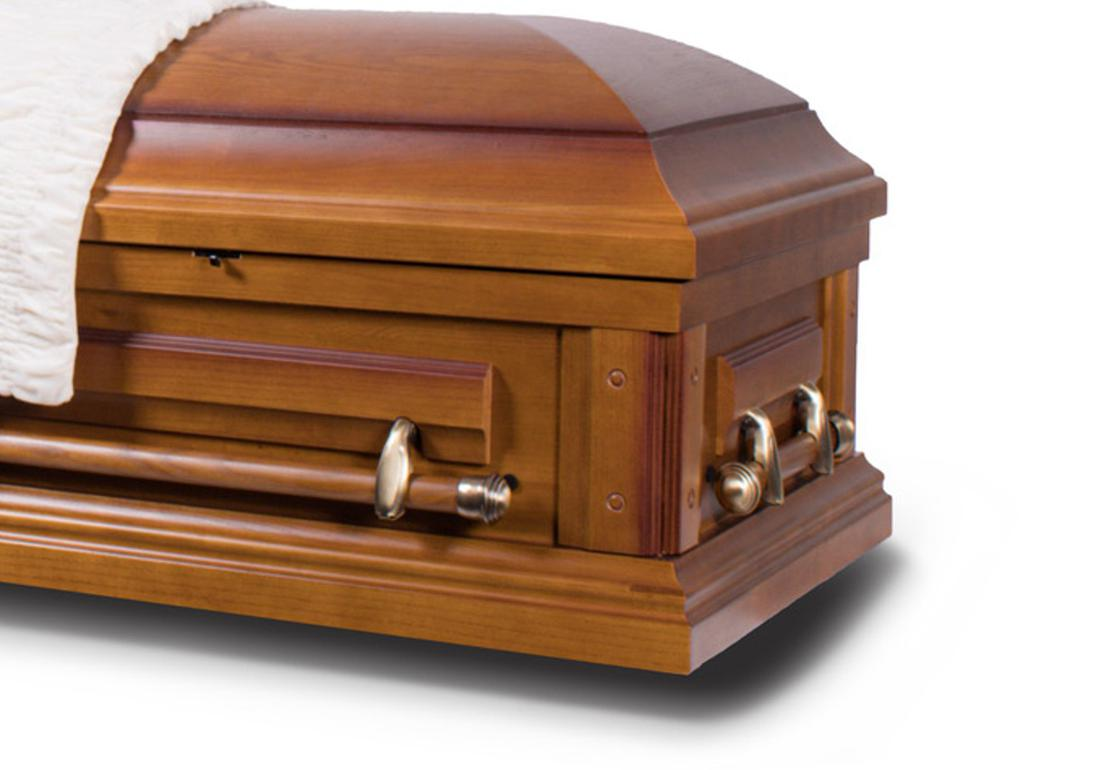 Photo of Hope - Solid Oak Casket
