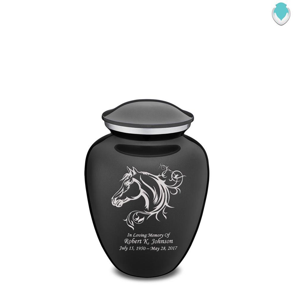 Photo of Medium Embrace Horse Cremation Urn