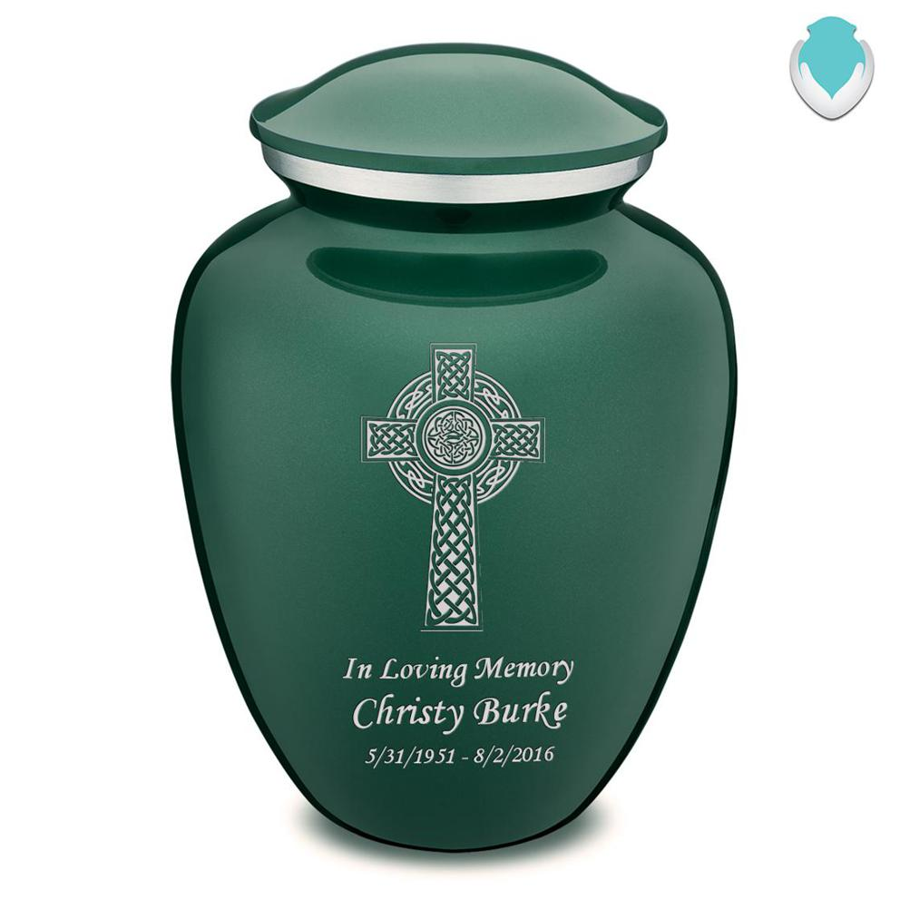 Photo of Adult Embrace Celtic Cross Cremation Urn