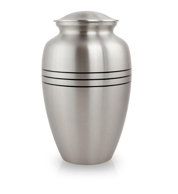 Photo of Classic Pewter Cremation Urn