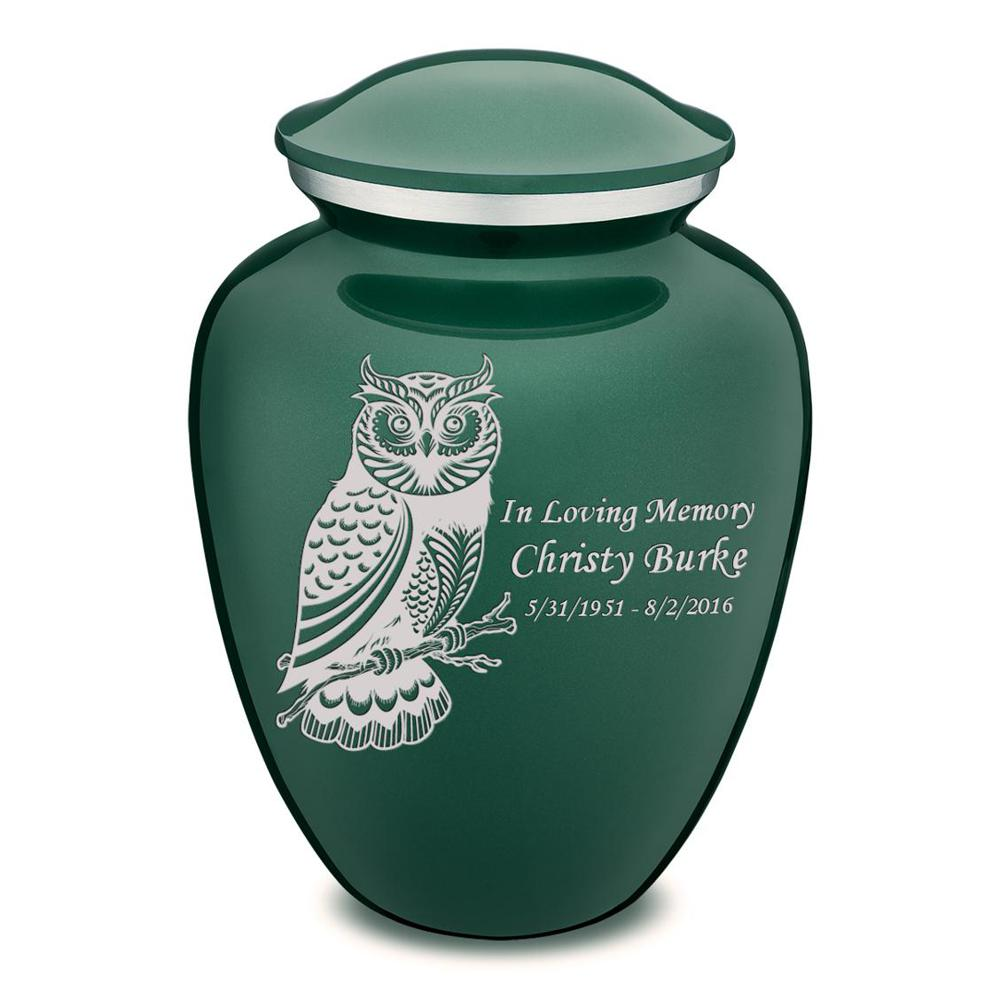 Photo of Adult Embrace Owl Cremation Urn