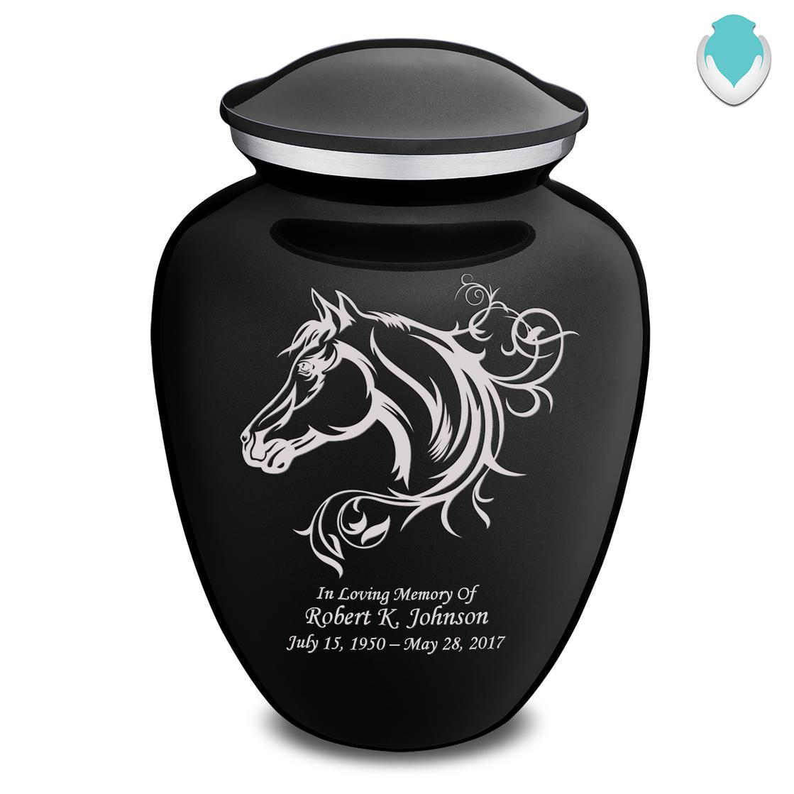 Photo of Adult Embrace Horse Cremation Urn