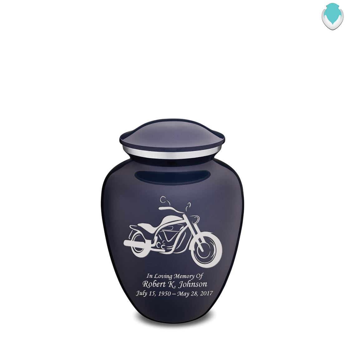 Photo of Medium Embrace Motorcycle Cremation Urn