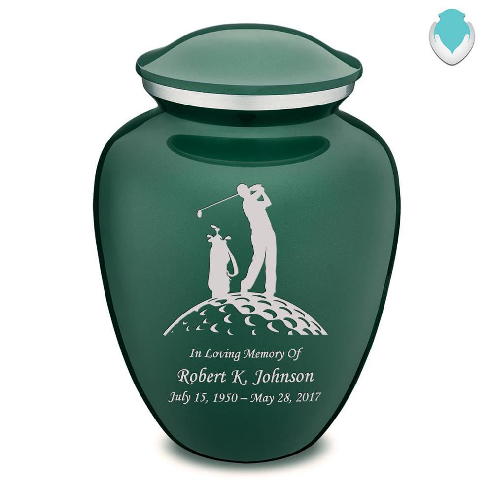 Photo of Adult Embrace Golf Cremation Urn