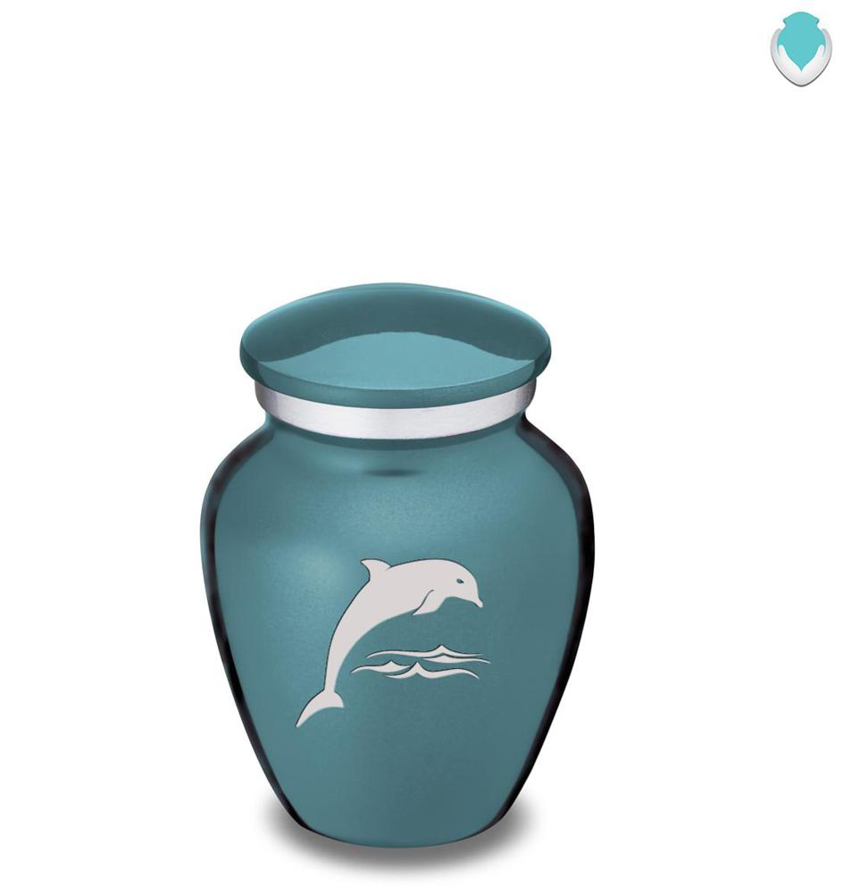 Photo of Keepsake Embrace Dolphins Cremation Urn