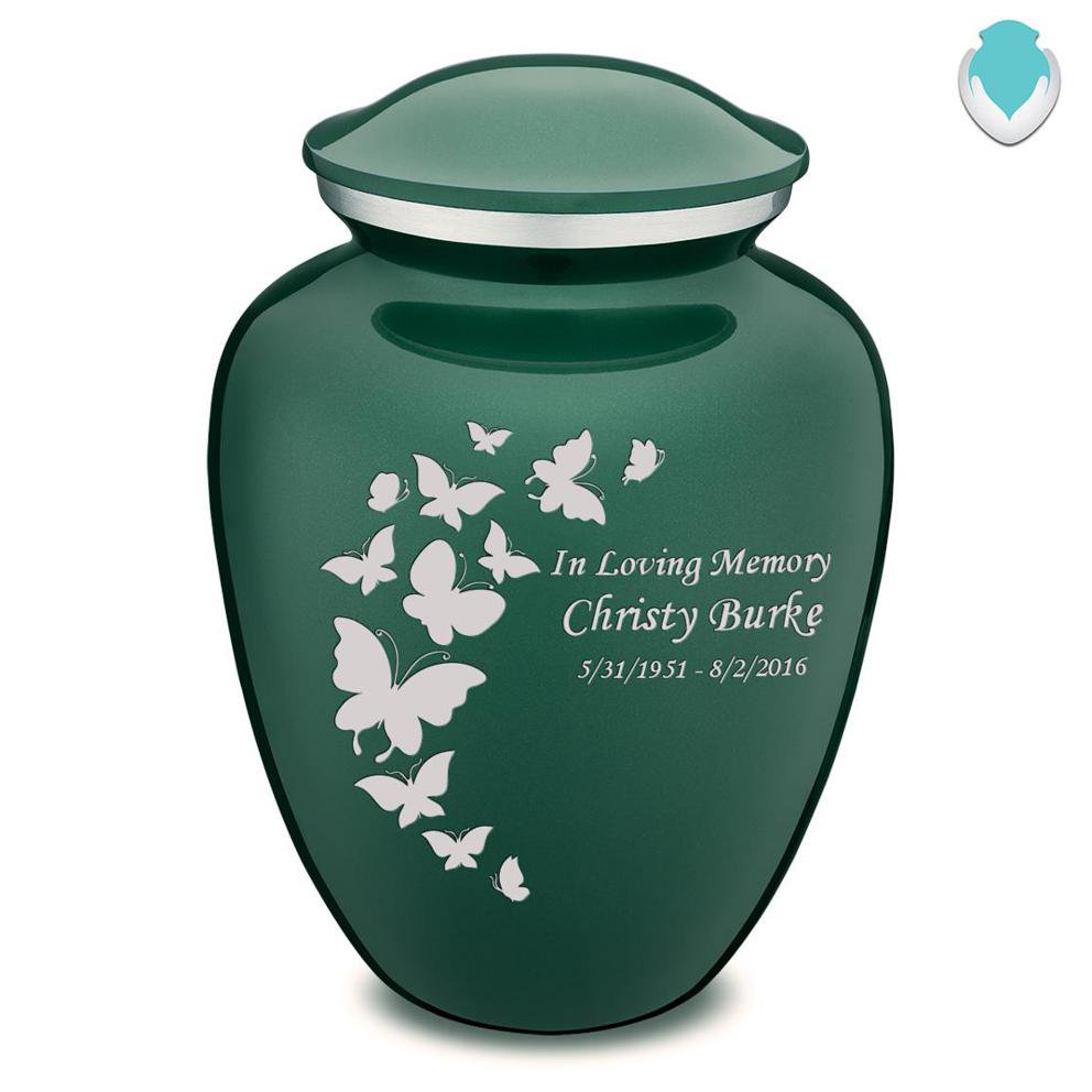 Photo of Adult Embrace Butterflies Cremation Urn