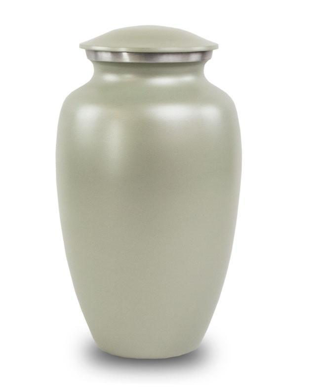 Photo of Classic Grey Cremation Urn