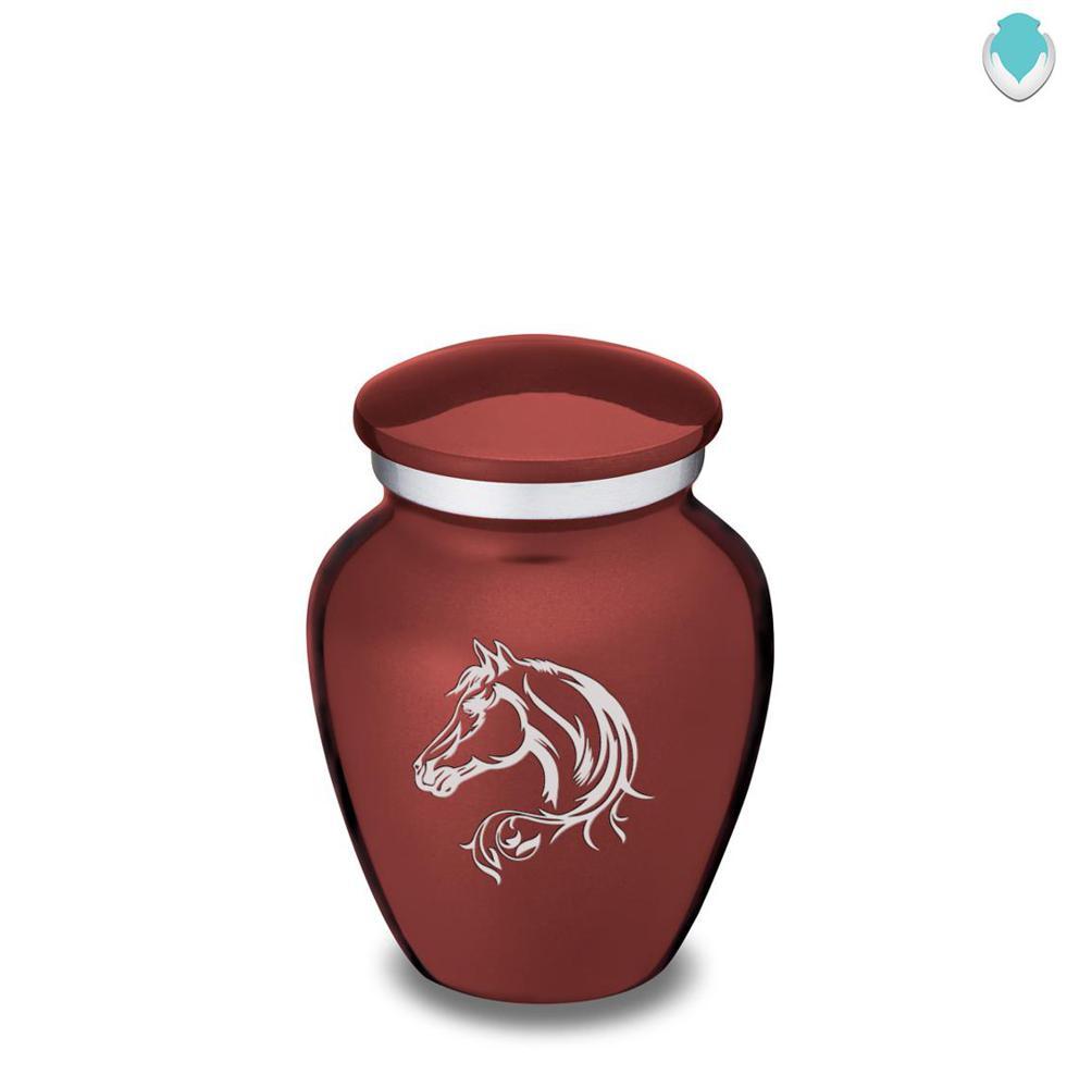 Photo of Keepsake Embrace Horse Cremation Urn
