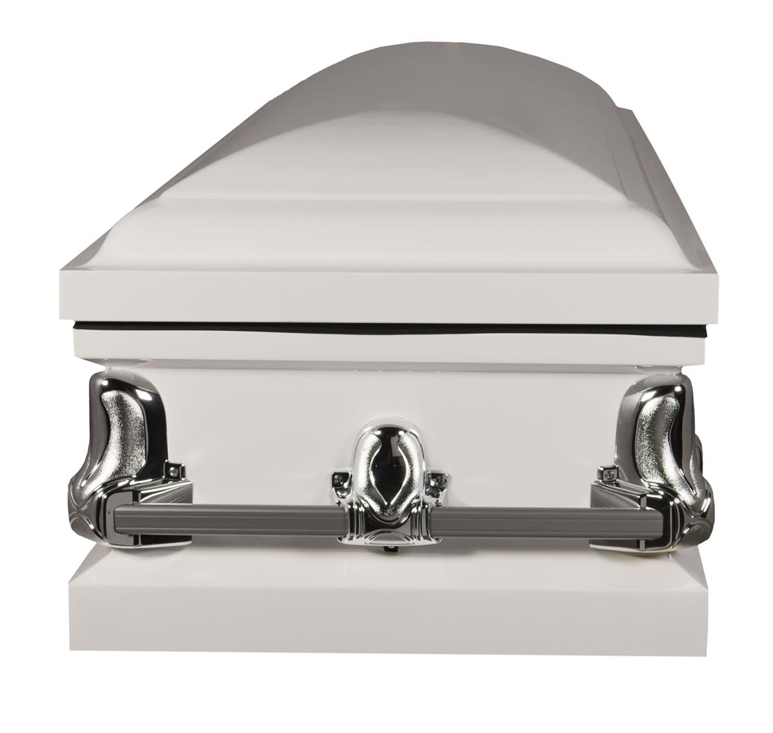Photo of Titan Orion Series | White Steel Casket