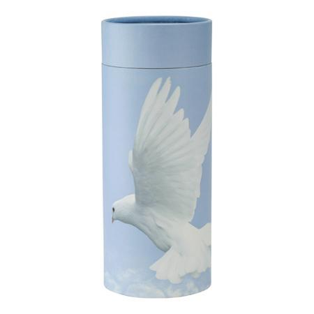 Photo of Returning Home Flying Dove Scatter Tube