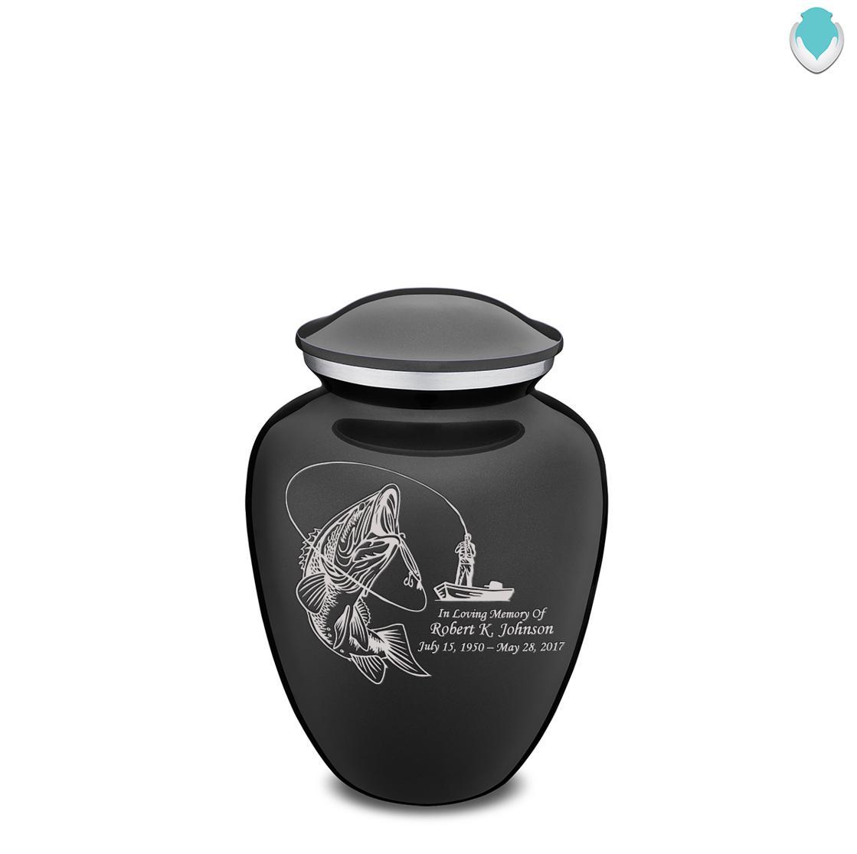 Photo of Medium Embrace Fishing Cremation Urn