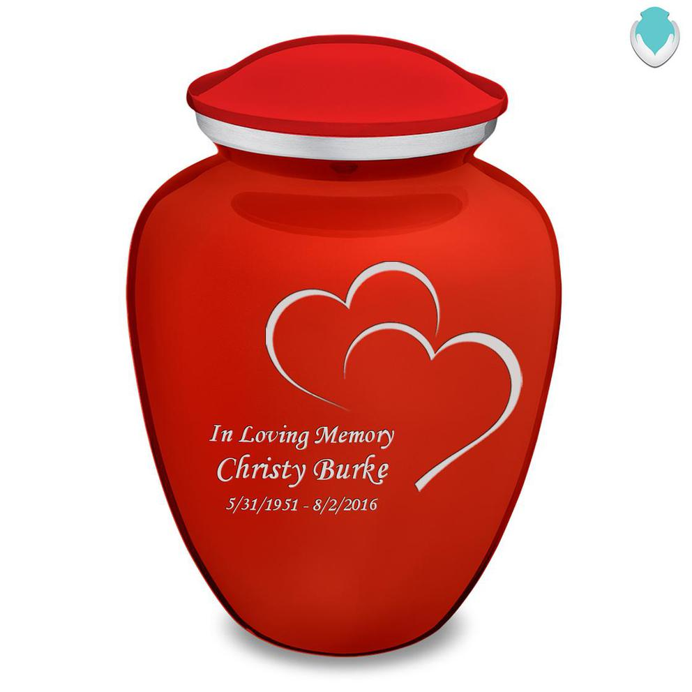 Photo of Adult Embrace Hearts Cremation Urn