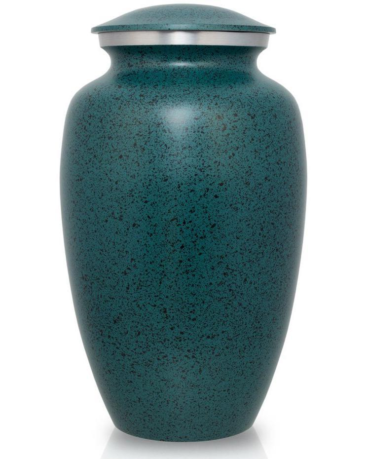 Photo of Classic Two-Tone Green Urn