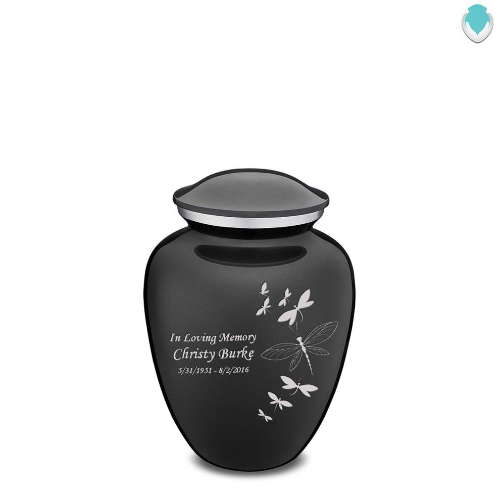 Photo of Medium Embrace Dragonflies Cremation Urn