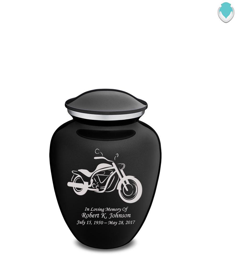 Photo of Medium Embrace Motorcycle Cremation Urn