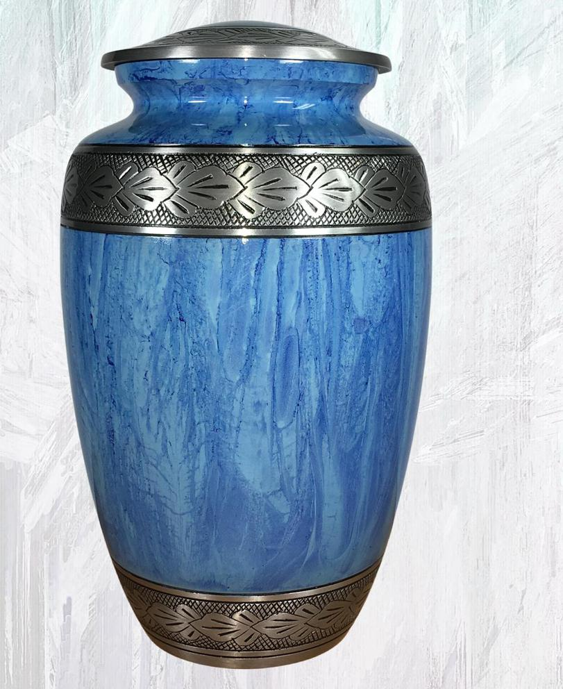Photo of Blue Adult Urn