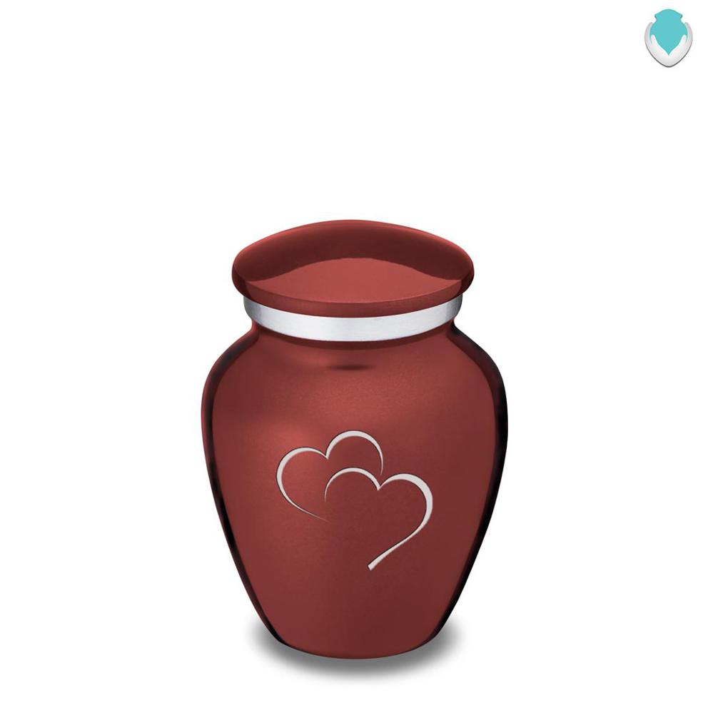Photo of Keepsake Embrace Hearts Cremation Urn