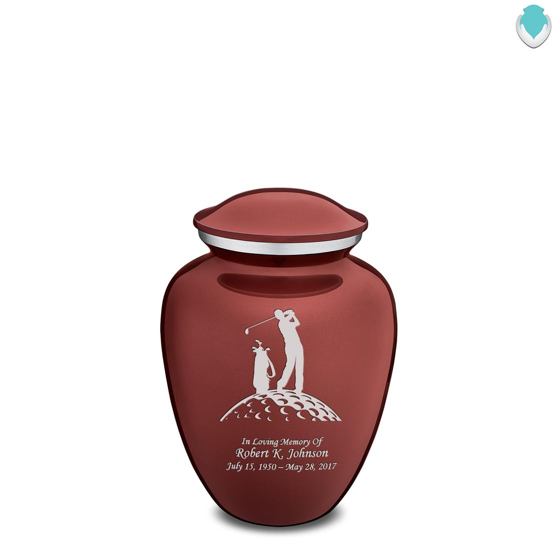 Photo of Medium Embrace Golf Cremation Urn